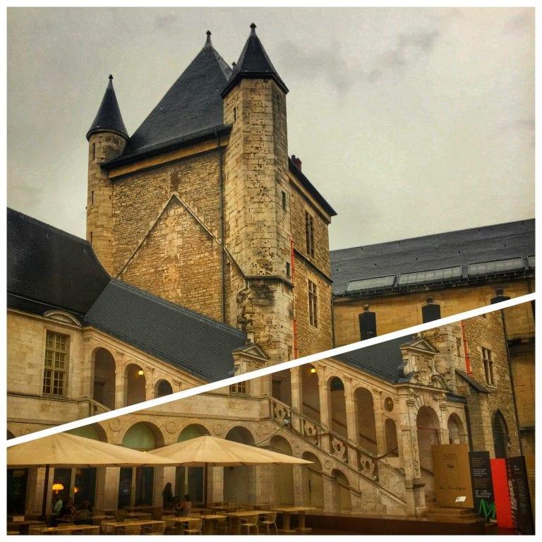 Dijon: Palais des Ducs, antigo palácio dos Duques da Borgonha onde atualmente funciona o Musée des Beux-Arts
