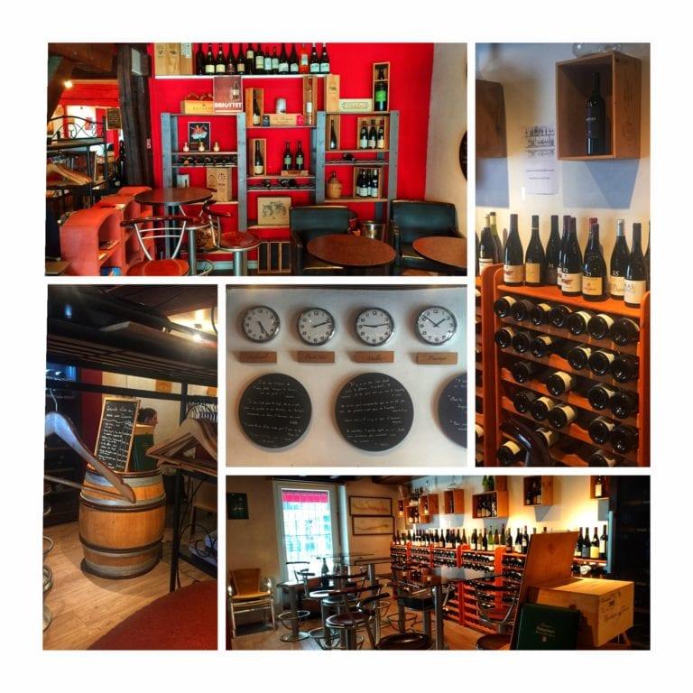 La Fine Heure: ambiente acolhedor com decoração apropriada à temática do vinho