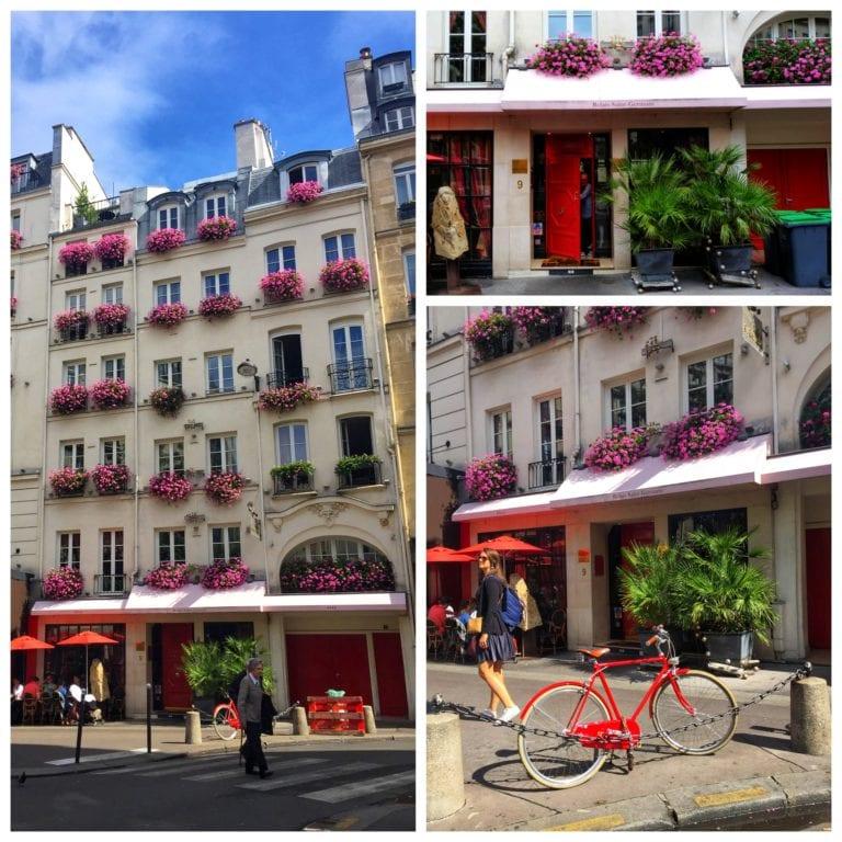 O charme dos edifícios e ruas de Saint Germain