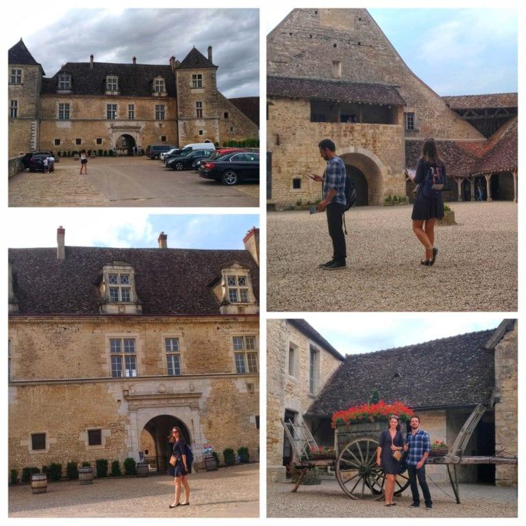 Rota dos Vinhos da Borgonha: Vougeot - visita ao Chateau Clos de Vougeot
