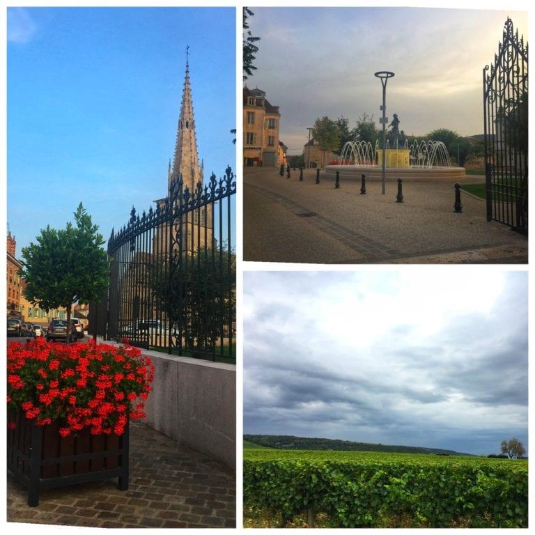 Rota dos Vinhos da Borgonha: Meursault onde a especialidade são os vinhos brancos de uva Chardonnay