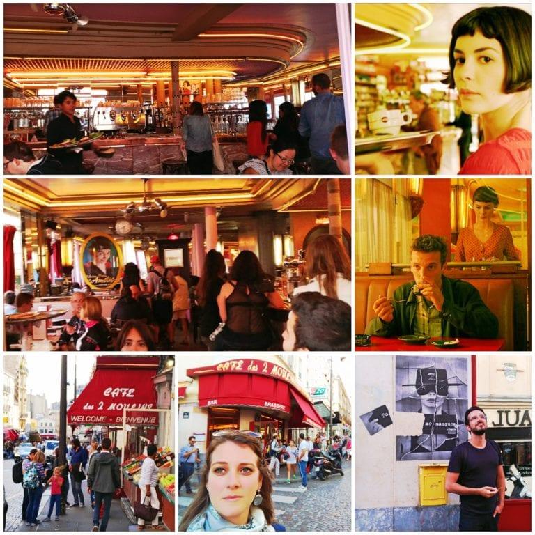 """Café Deux Moulins - cenário do filme """"O Fabuloso Destino de Amélie Poulain"""""""