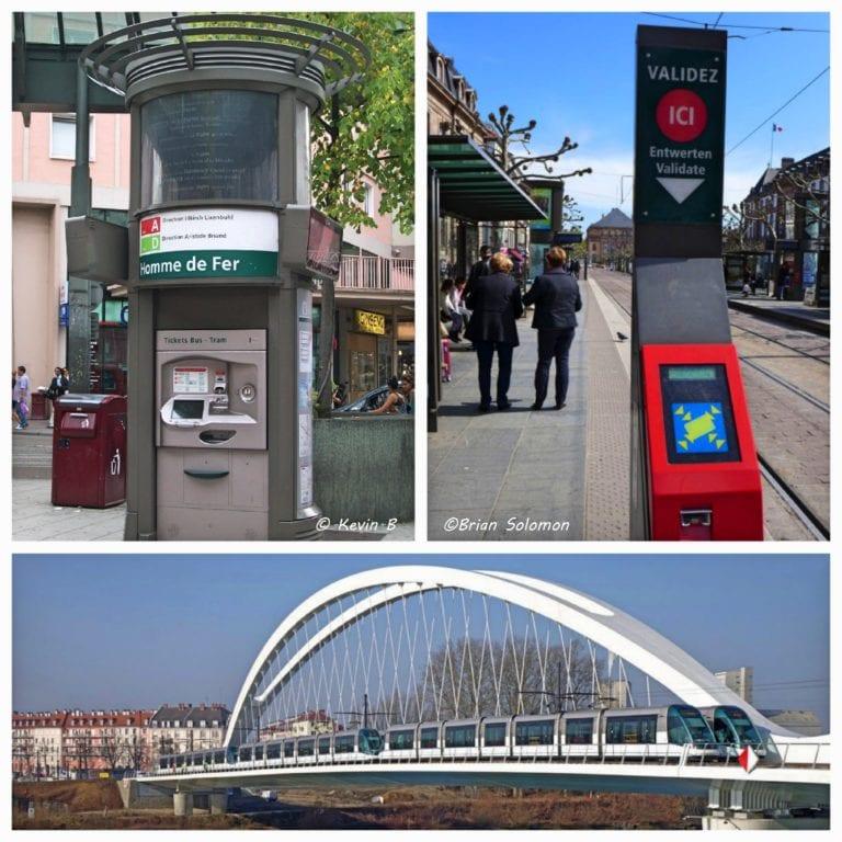 Como ir de Estrasburgo até Kehl - sistema do tram