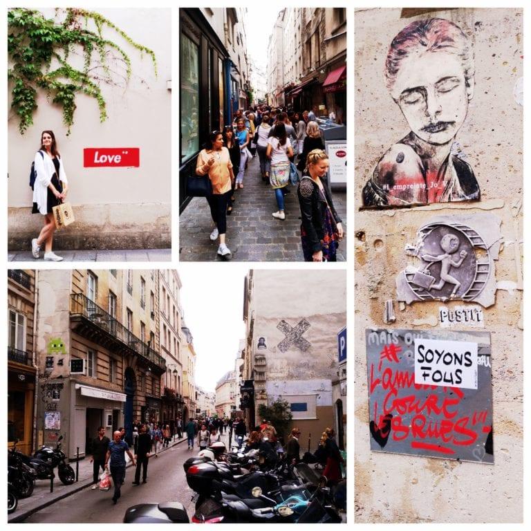 Le Marais - ruas do bairro famoso