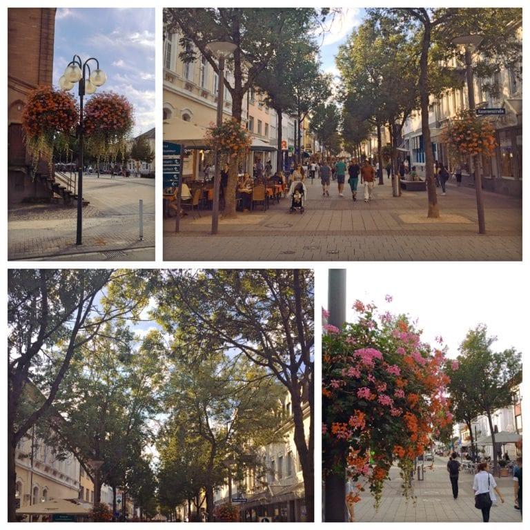 O que fazer em Kehl - MarktPlatz e as ruas floridas