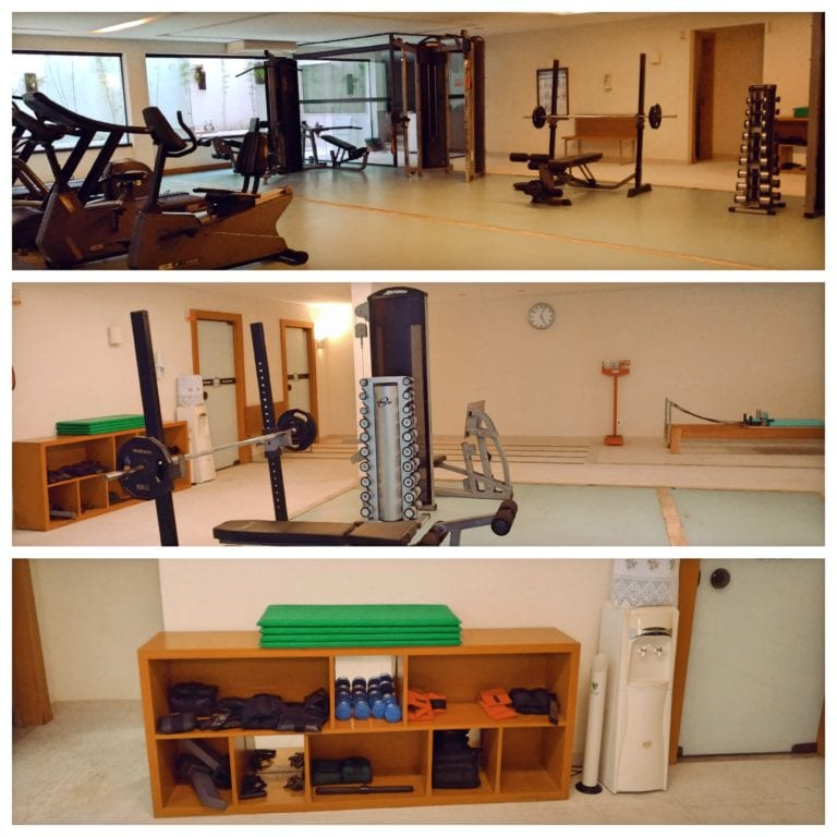 Hotel Ferradura Resort - academia completa