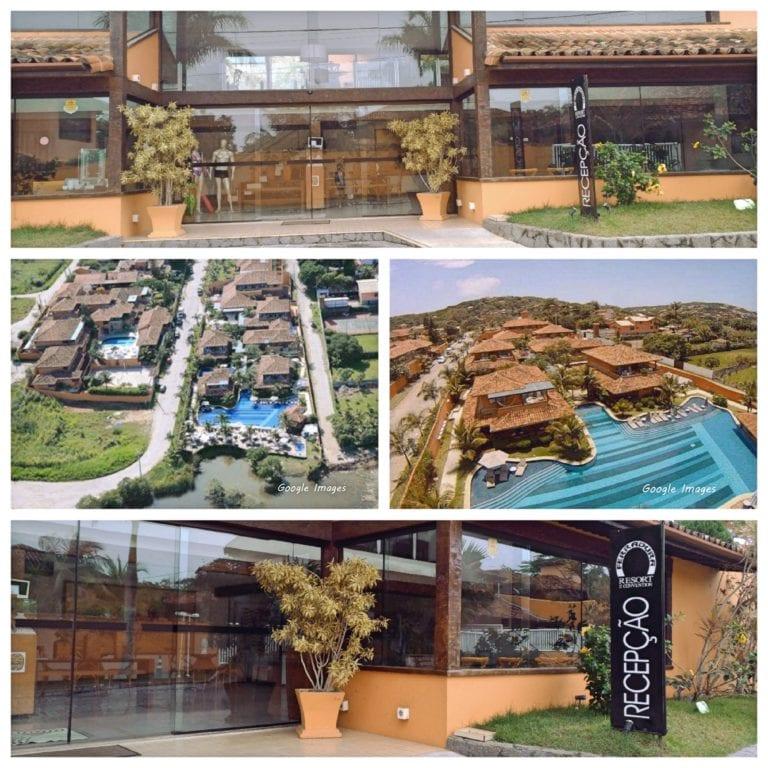 Hotel Ferradura Resort - entrada e vista aérea