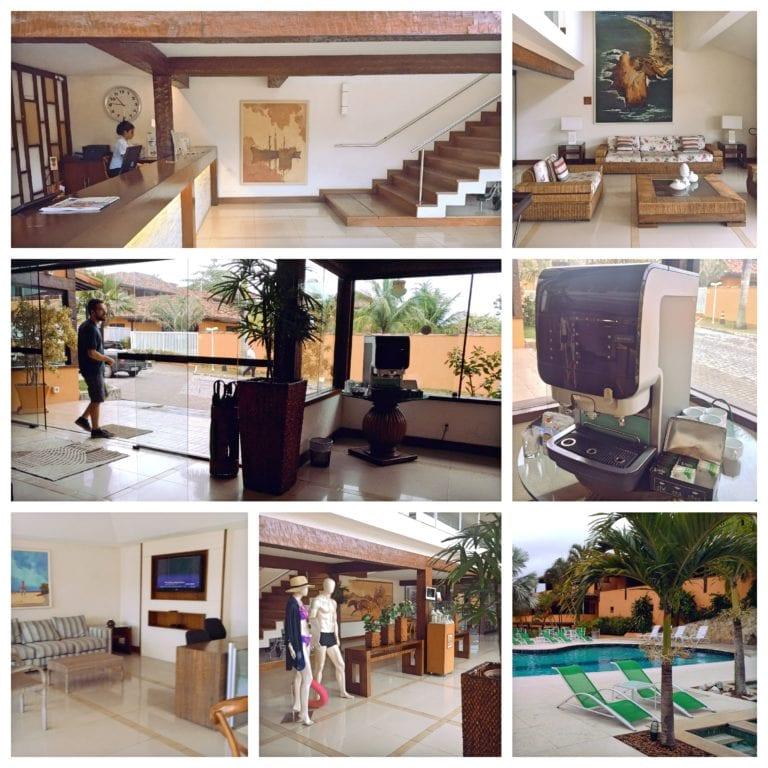 Hotel Ferradura Resort - recepção do hotel
