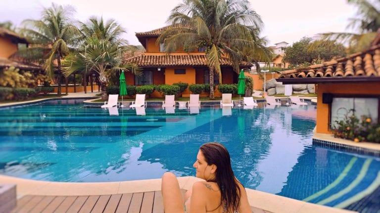 Hotel Ferradura Resort - complexo de piscinas