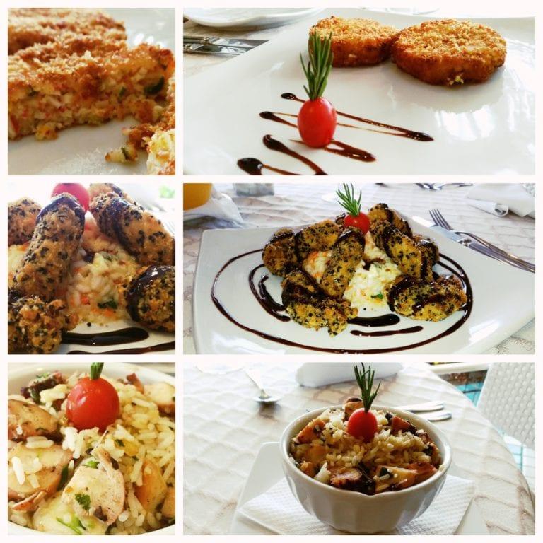 Restaurante Hotel Ferradura Private - entrada e pratos principais