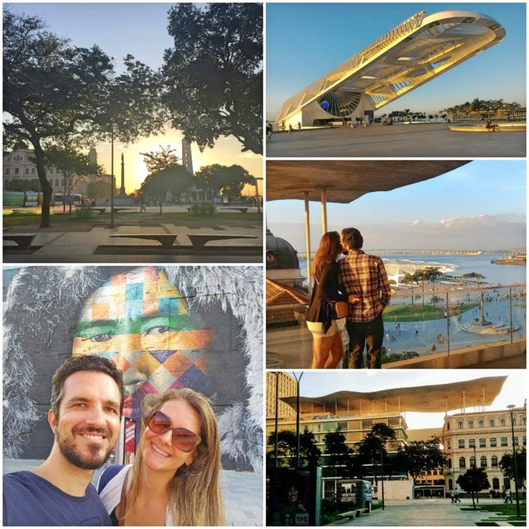 AquaRio - muitas atrações na mesma região com MAR, Museu do Amanhã, Murais do Kobra