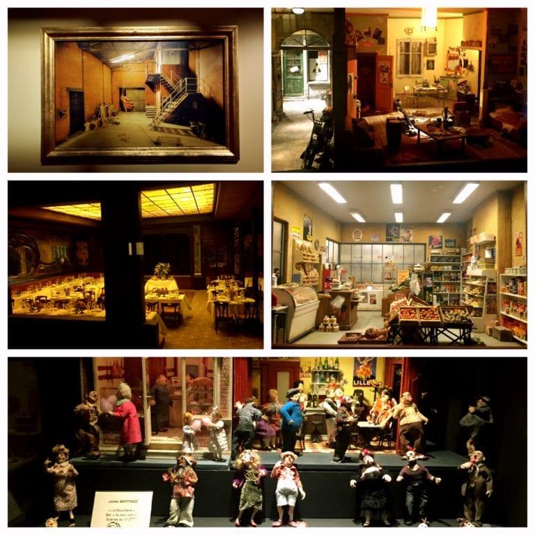 Lyon City Card - Musée Cinéma et Miniature e as miniaturas