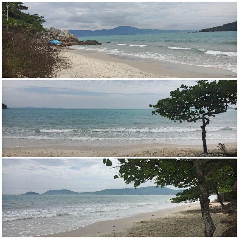 A praia mais próxima