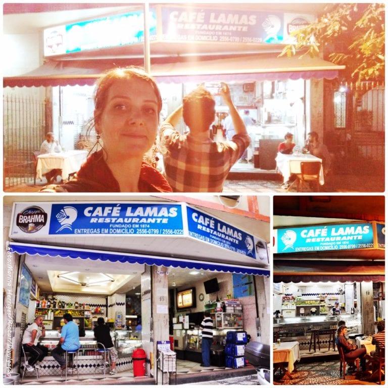 Café Lamas - fachada