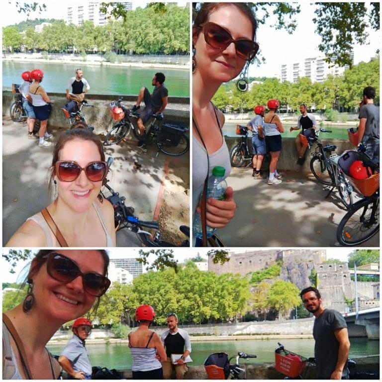 Lyon Bike Tour - Rio Saône