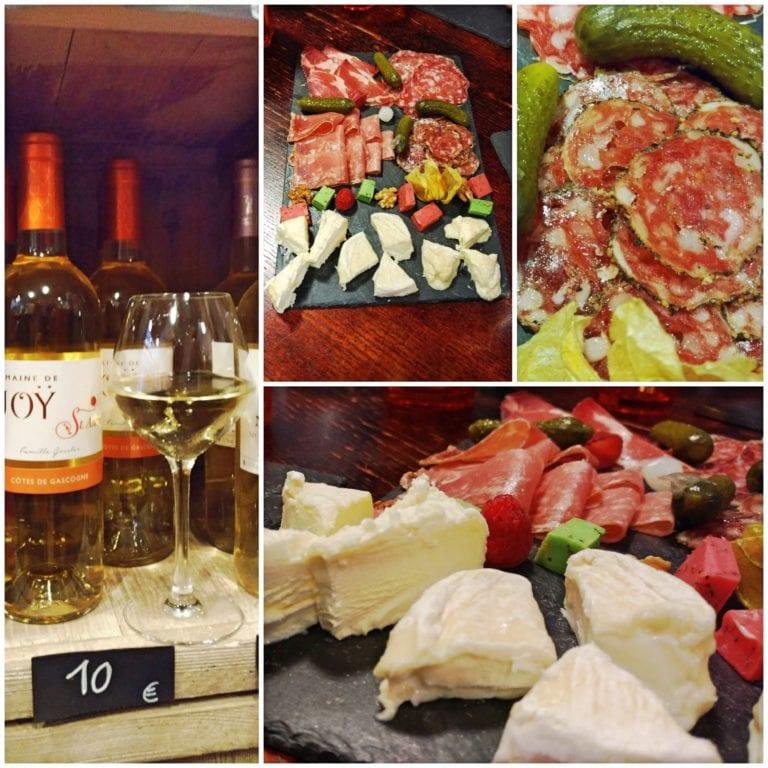 Lyon Bike Tour - degustação no B.M.D - bois manges et détends-toi - um Bar à Vin