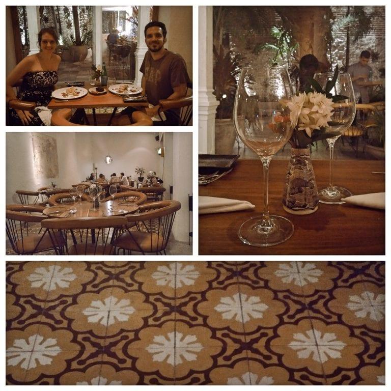 Carmen Cartagena - salão e a nossa mesa