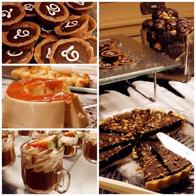 Confeitaria Colombo - buffet de mini sobremesas