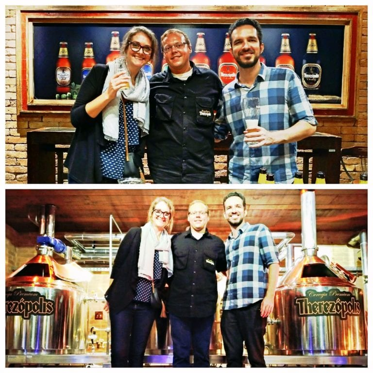 Vila St. Gallen - com o Pedro, bier sommelier e instrutor do curso e do tour