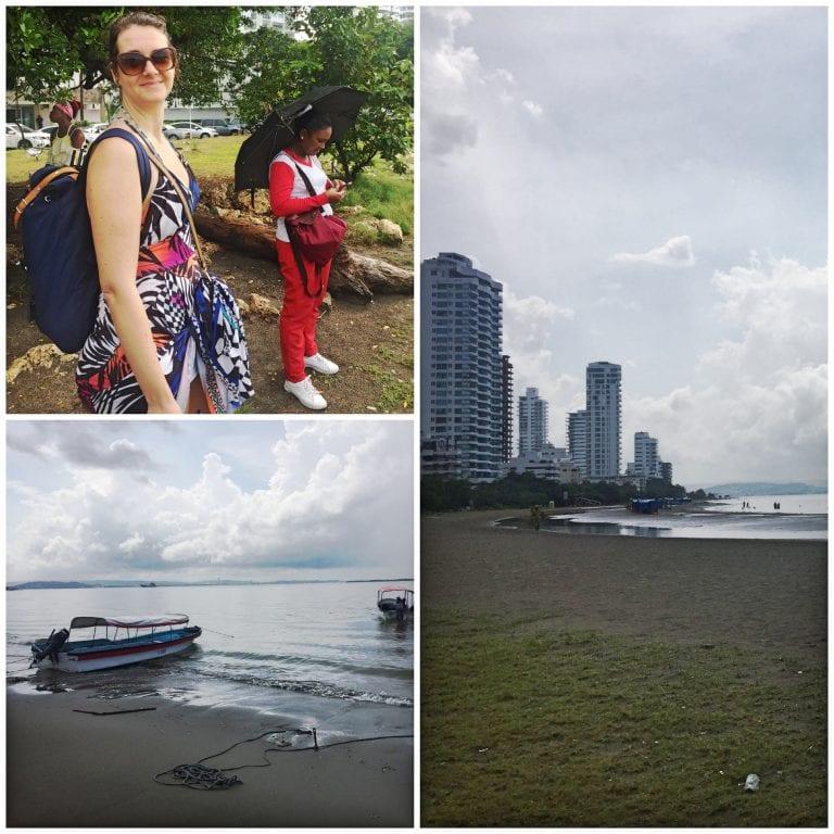 Encharcados após o temporal que caiu na manhã de Cartagena