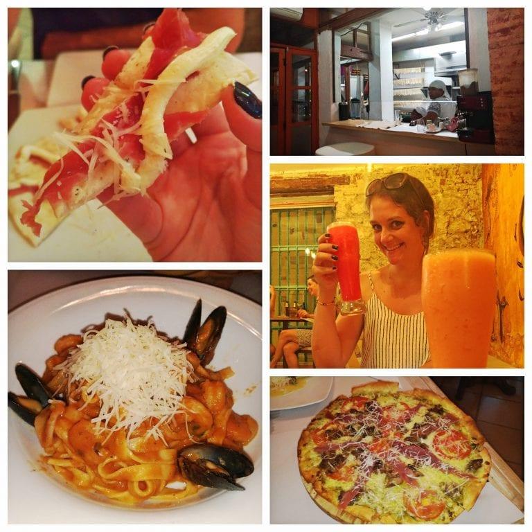 Restaurantes em Cartagena: Bacco Trattoria