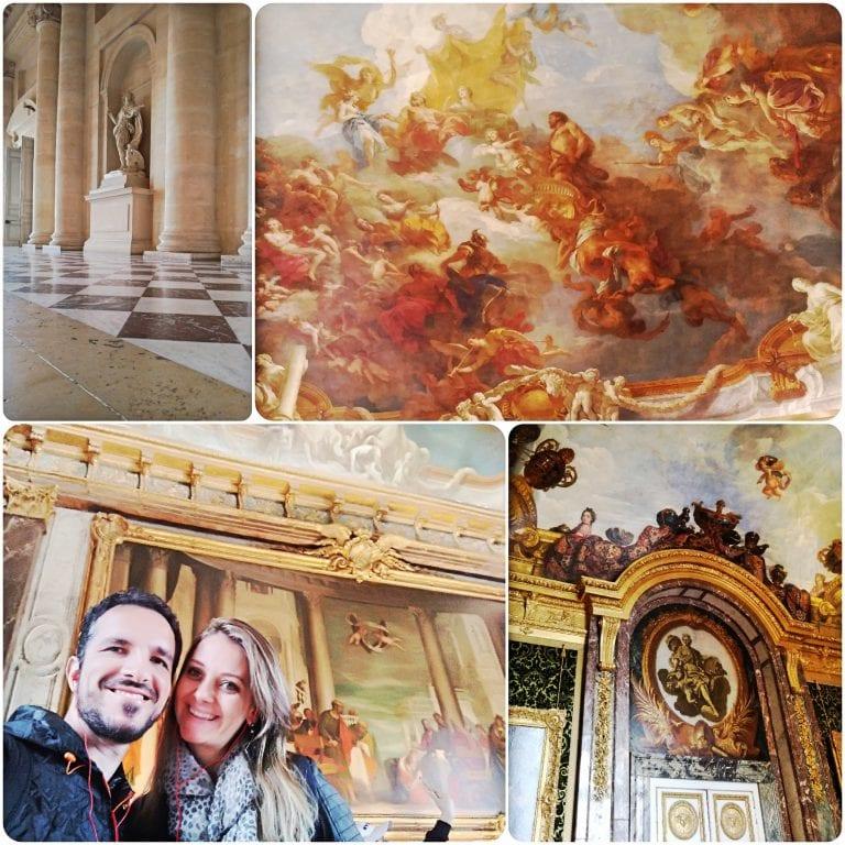 Palácio de Versalhes – primeiros salões