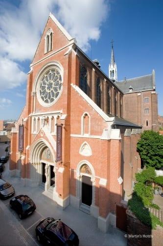 Hotel Martin's Patershof - que tal se hospedar em uma igreja   Imagem: acervo do hotel