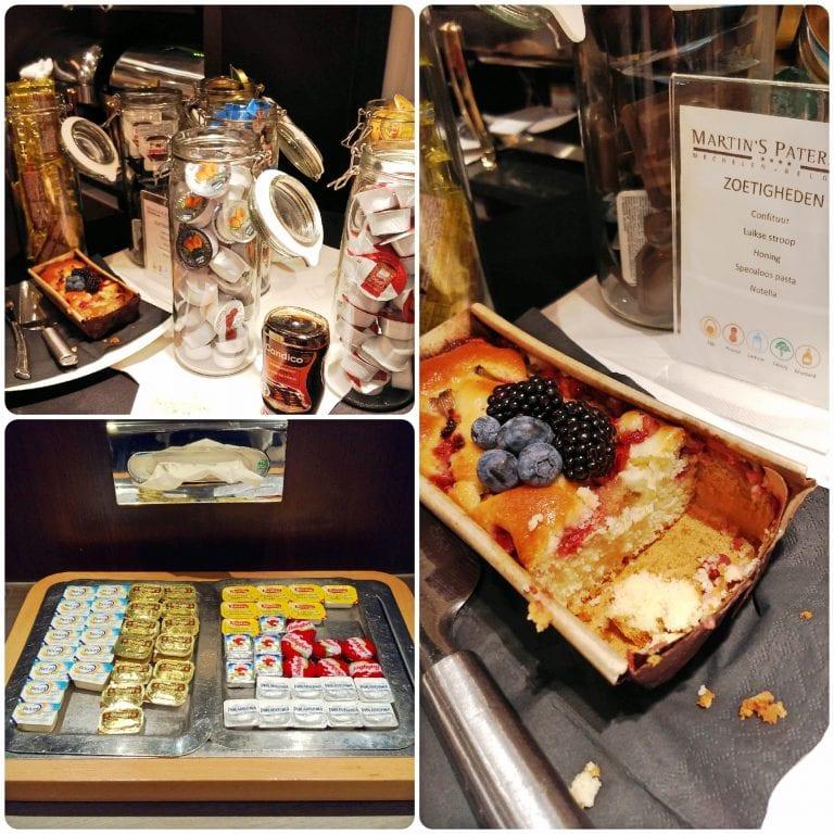 Hotel Martin's Patershof - bolo de frutas delicioso