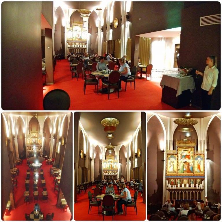 Hotel Martin's Patershof - café da manhã na igreja