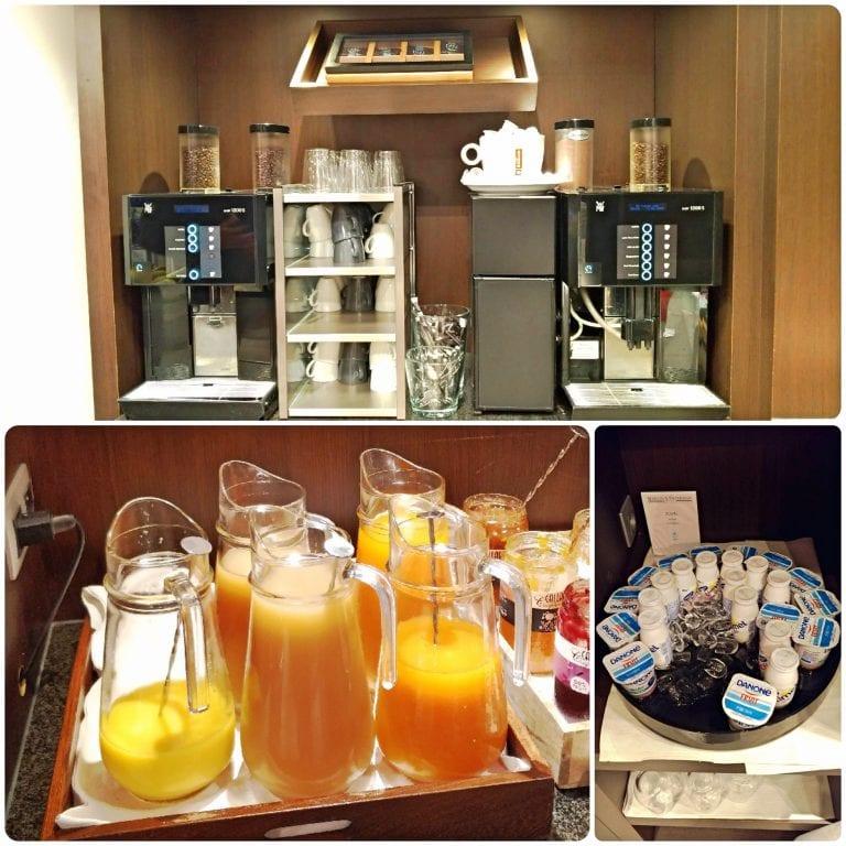 Hotel Martin's Patershof - cafés, sucos e iogurte