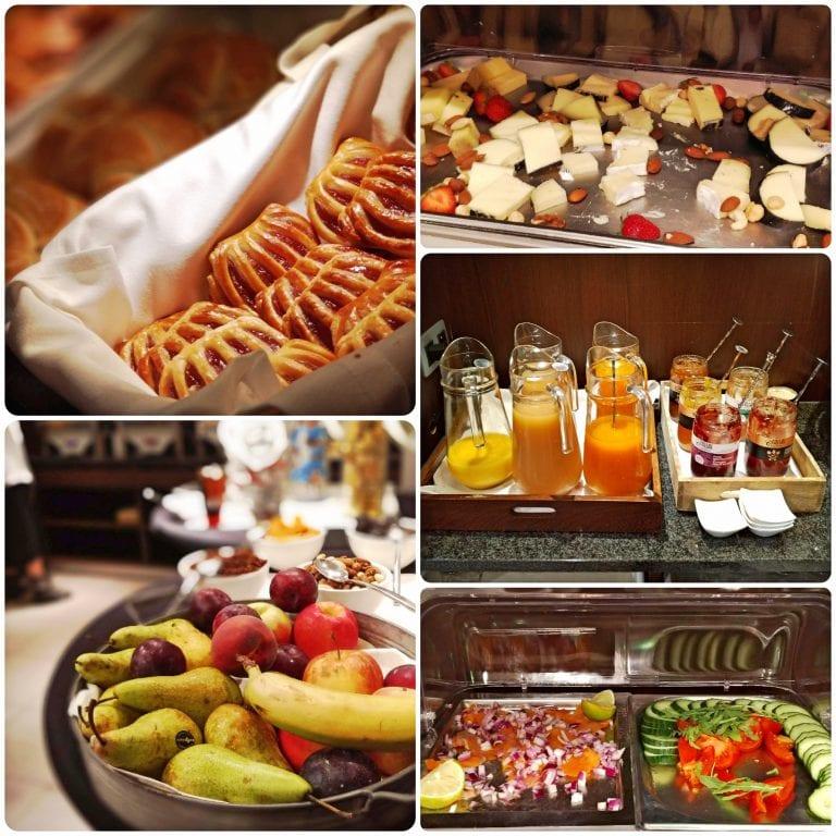 Hotel Martin's Patershof - muitas opções no café da manhã