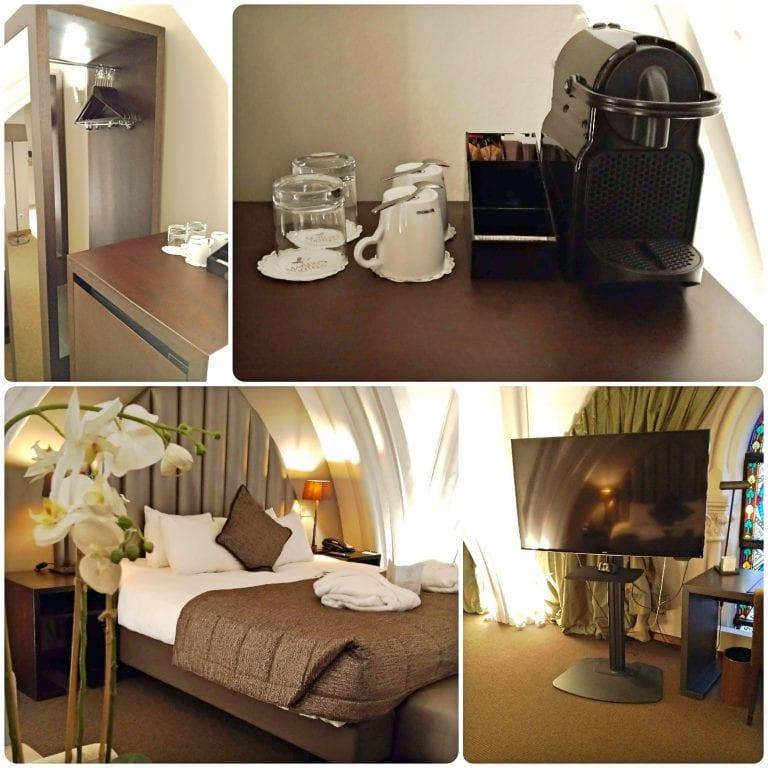 Hotel Martin's Patershof - roupeiro, frigobar, cafeteira Nespresso e todo conforto necessário