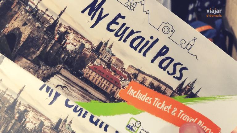 Passe de trem da Eurail