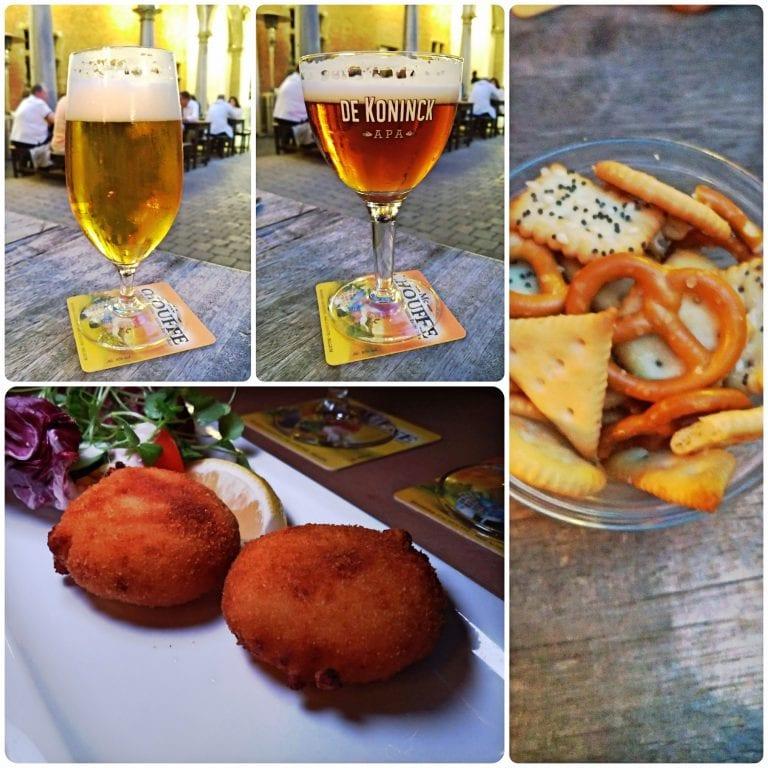 De Groote Witte Arend - aperitivo, entrada e cervejas