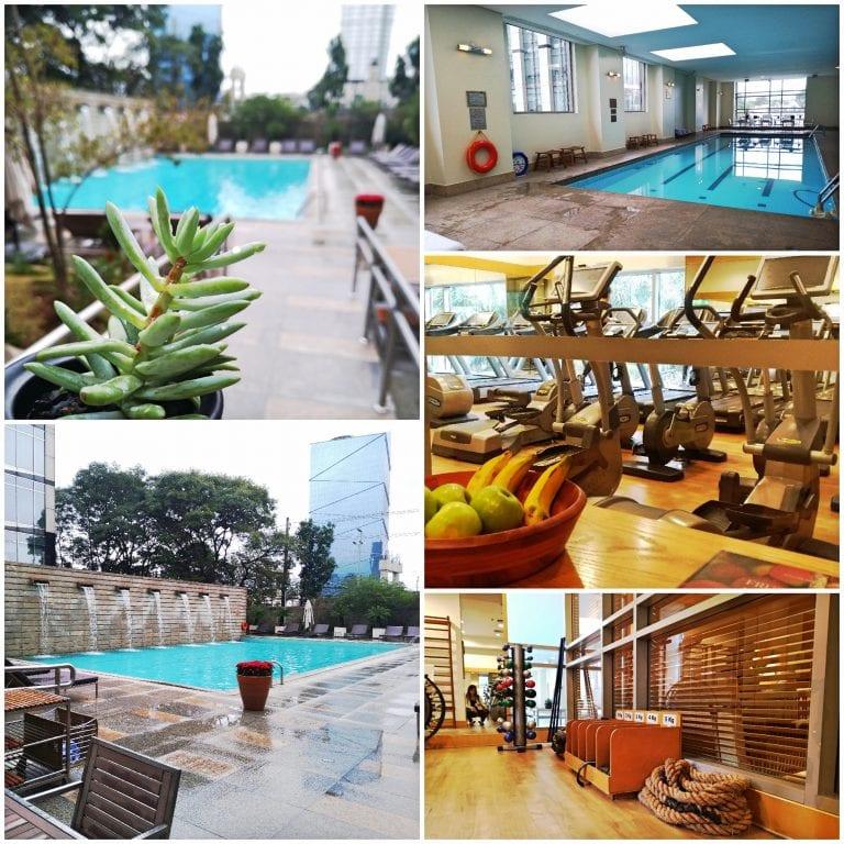 Grand Hyatt São Paulo - piscinas e a academia