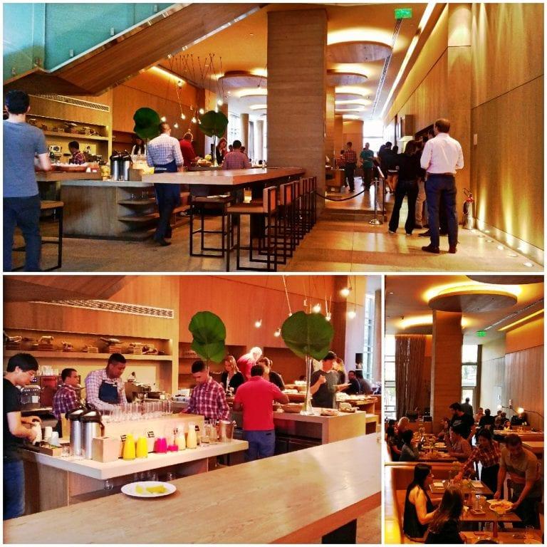 Grand Hyatt São Paulo - restaurante do café da manhã
