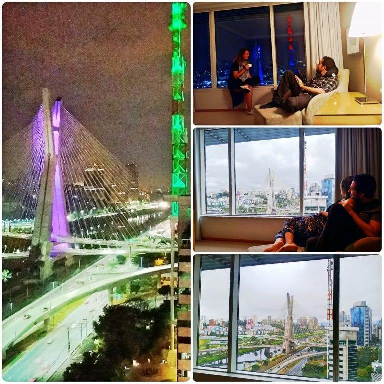 Grand Hyatt São Paulo - super vista do quarto