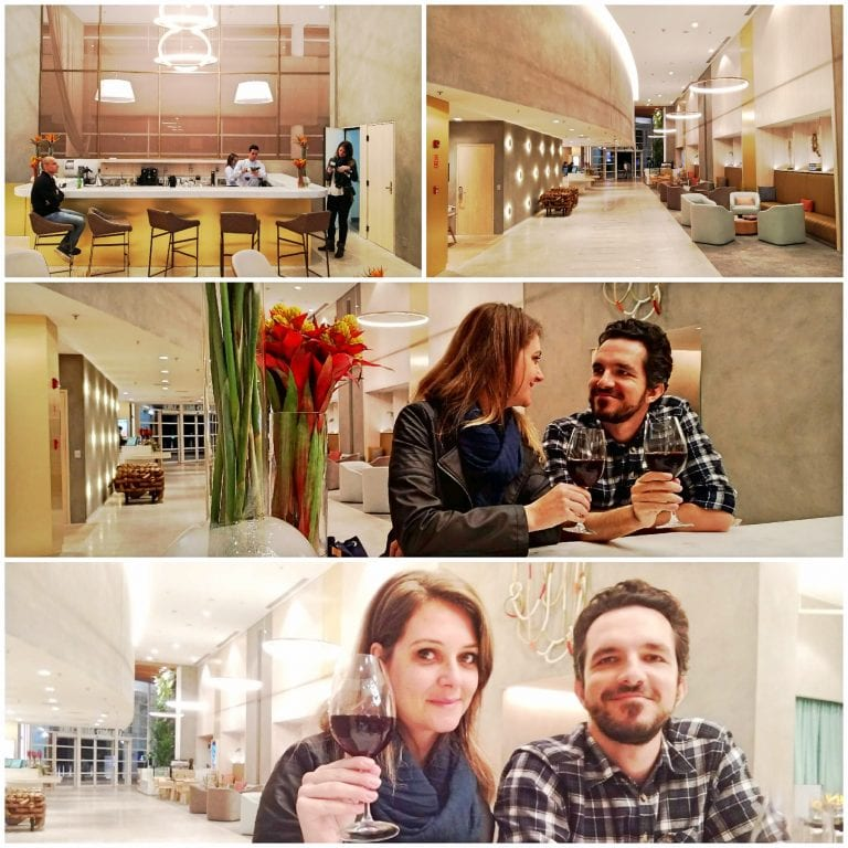 Hotel Grand Mercure São Paulo Vila Olimpia - Welcome drink no bar do hotel antes do jantar