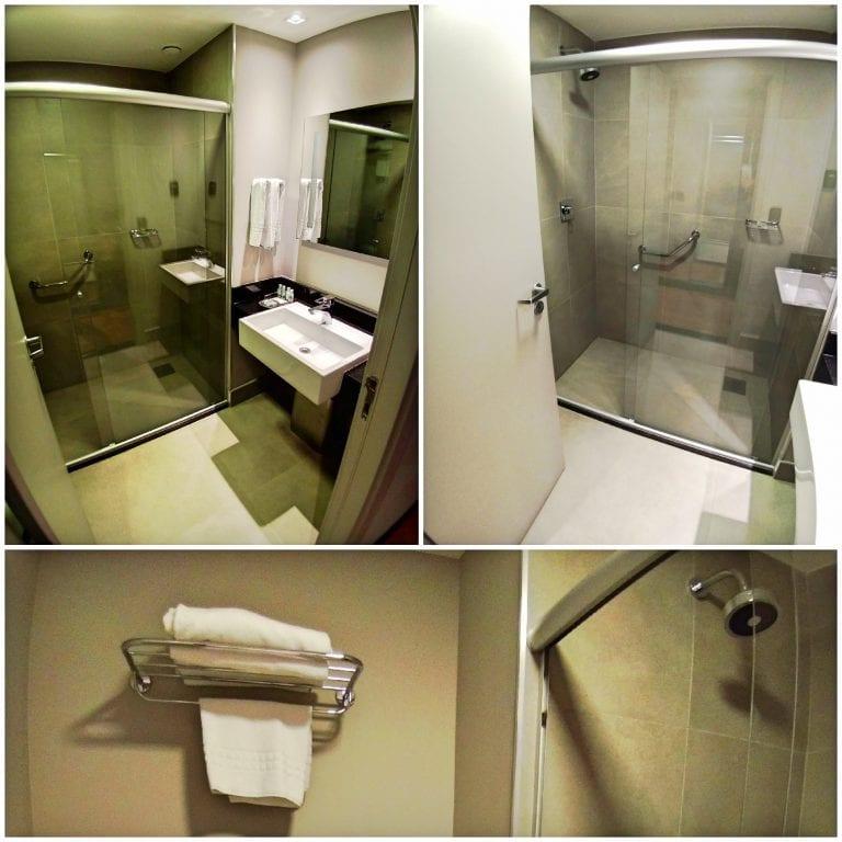 Hotel Grand Mercure São Paulo Vila Olimpia - banheiro confortável e limpo