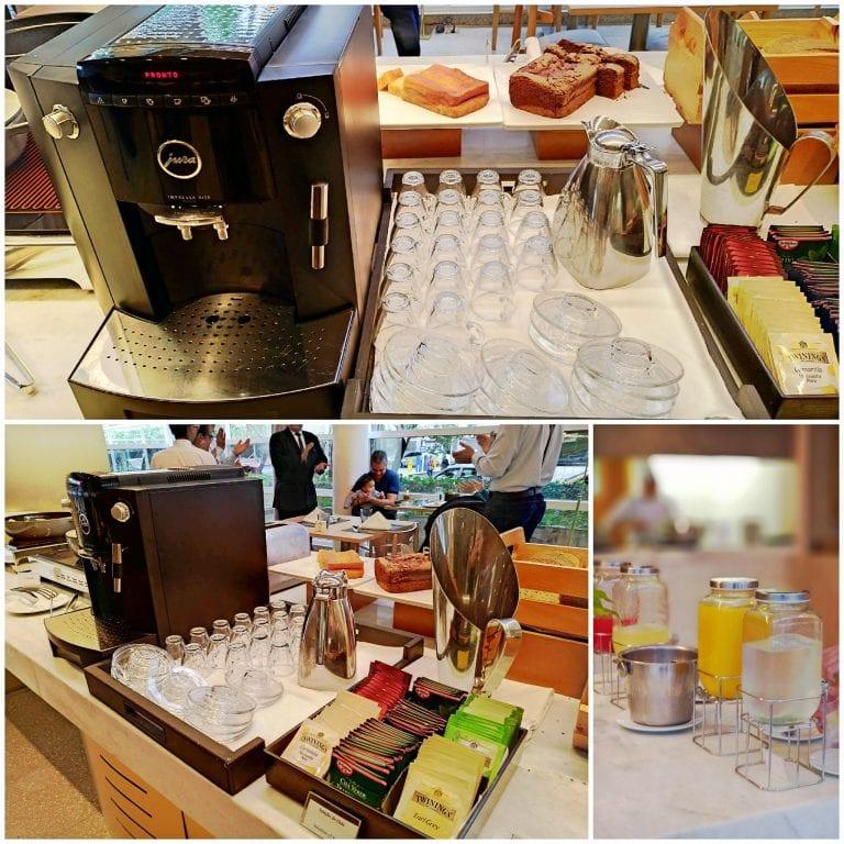 Hotel Grand Mercure São Paulo Vila Olimpia - café, chá e sucos