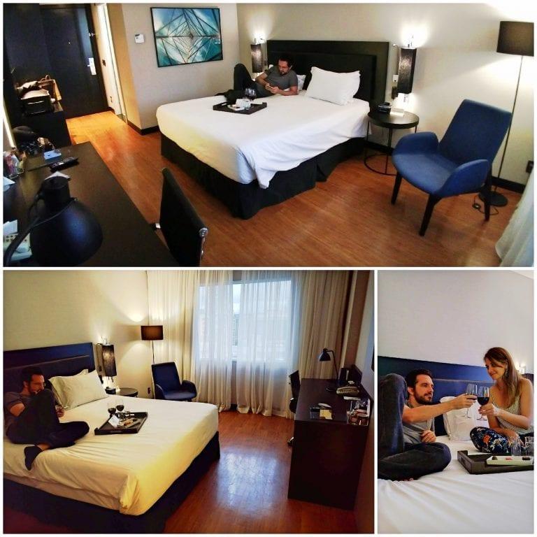 Hotel Grand Mercure São Paulo Vila Olimpia - quarto amplo com cama confortável