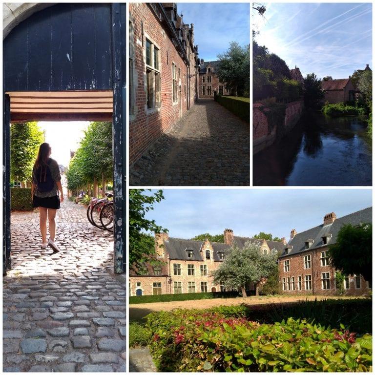 Mais um pouco do clima de paz e tranquilidade da Grote Beguinhof de Leuven, na Bélgica