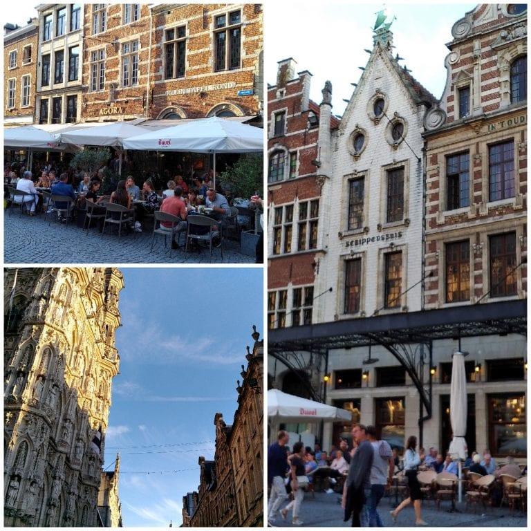Grotemarkt, a praça principal de Leuven
