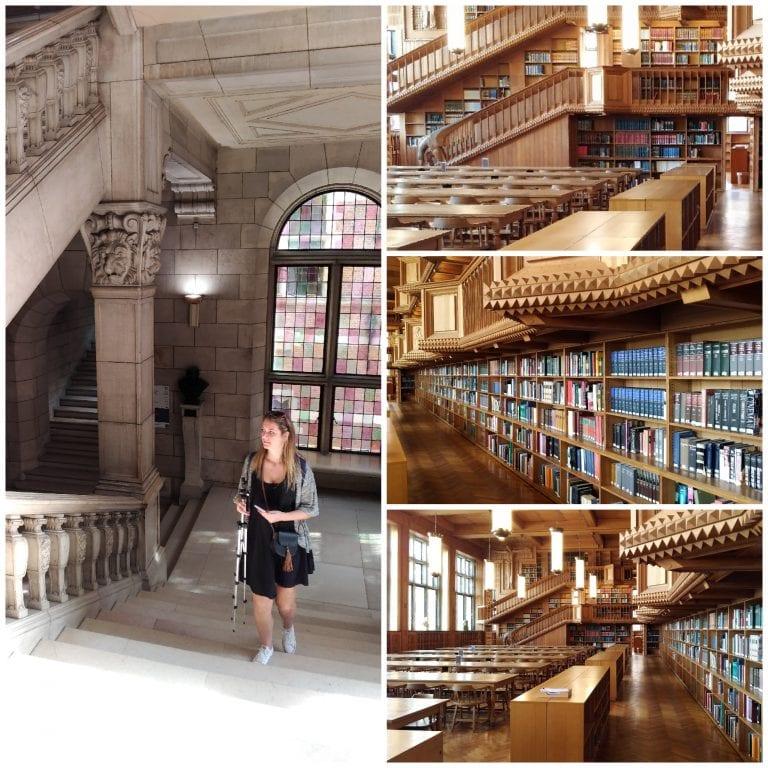 Por dentro da Biblioteca da KU Leuven
