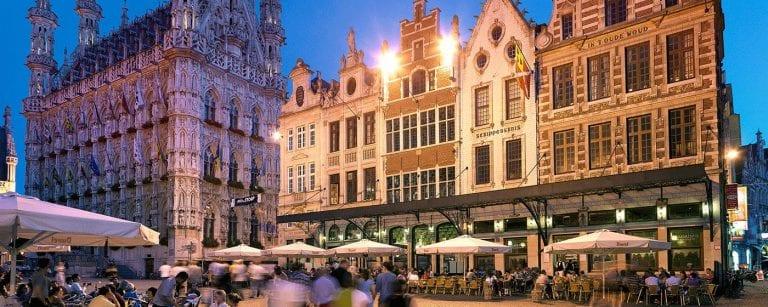 Leuven, na Bélgica. fonte: visitflandres.com
