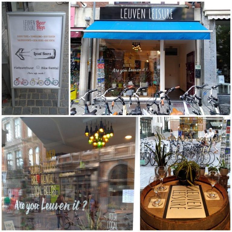 Leuven Leisure - atividades pela cidade e loja de cervejas artesanais da região