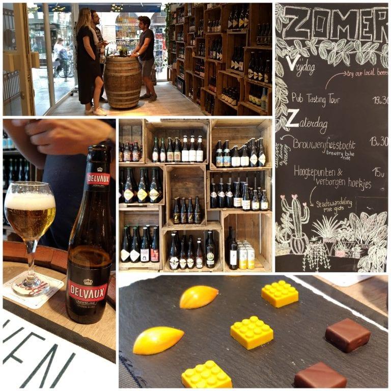 Harmonização de chocolates e cervejas belgas na Leuven Leisure