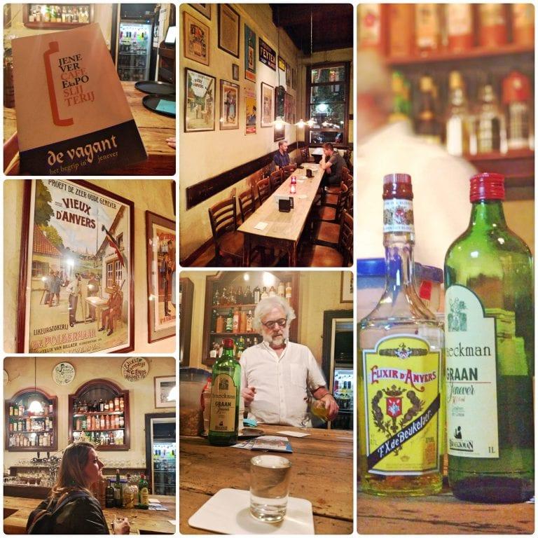 De Vagant - bar da família especializado em Jenever belga