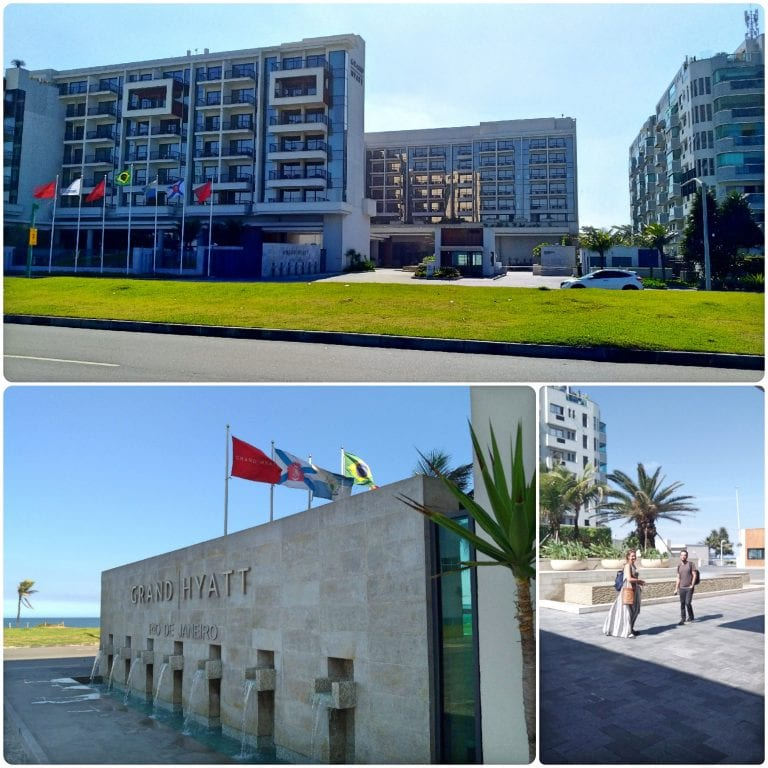 Grand Hyatt Rio de Janeiro - fachada do resort