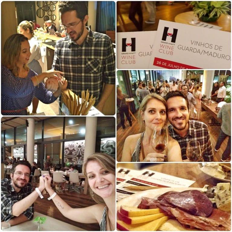 Grand Hyatt Rio de Janeiro - participando do Grand Hyatt Wine Club com pulseirinha e tudo